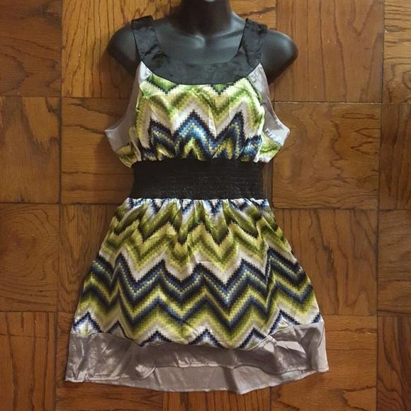Sele Dresses & Skirts - NWT Sleeveless  Shirt Dress by Sele Size L